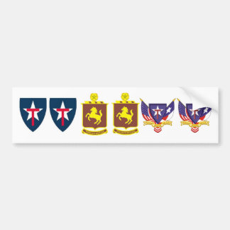 19th REGT TXSG Sticker set Bumper Sticker
