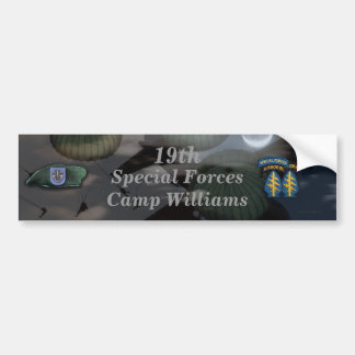 19th special forces camp williams Bumper Sticker
