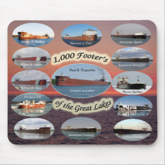 1,000 footers on the Great Lakes mousepad