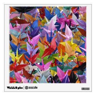 1,000 Origami Paper Cranes Photo Wall Sticker