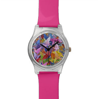 1,000 Origami Paper Cranes Photo Watch