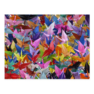 1,000 Origami Paper Cranes Postcard