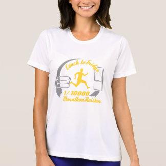 1/10,000 Marathon Finisher Shirt-- Women's Sport T-Shirt