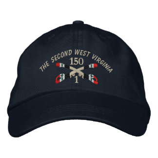 1-150th Cavalry Iraq Crossed Sabers Hat Embroidered Hat