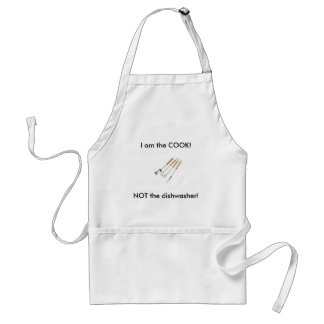 1_1_2984181_regular, I am the COOK!, NOT the di... Standard Apron