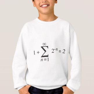 1 + 1 = 2 _ summation notation sweatshirt