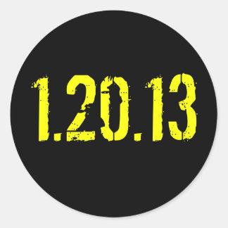 1.20.13 CLASSIC ROUND STICKER