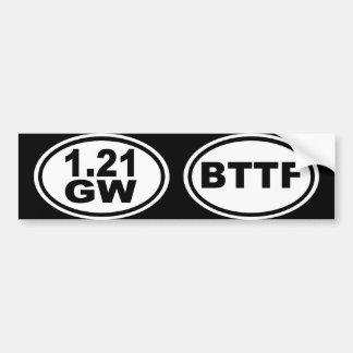 1.21 Gigawatts?! Bumper Sticker