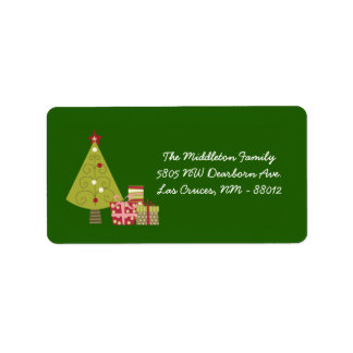 1 25 étiquettes de adresse de expédition d arbre v étiquettes d'adresse