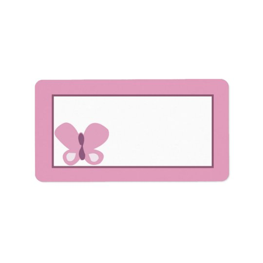 "1.25""x2.75"" Mailing Address Sugar Plum"