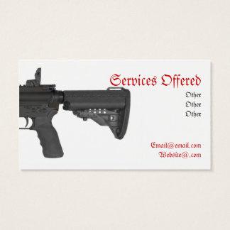 1/2 1/2 Ar-15 Business card