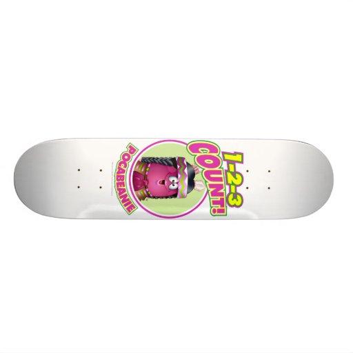 1-2-3 Count Pocabeanie Skate Board