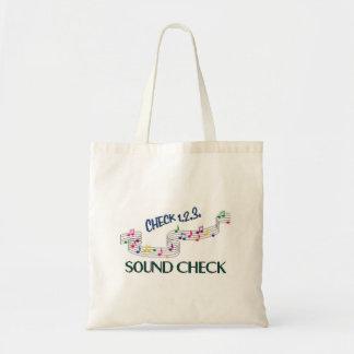 1.2.3 Sound Check Tote Bag