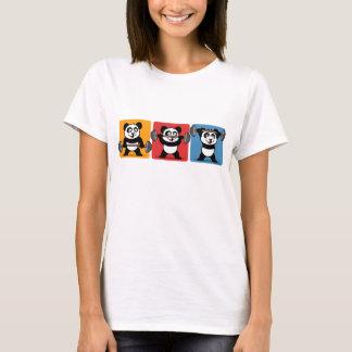 1-2-3 Weightlifting Panda T-Shirt