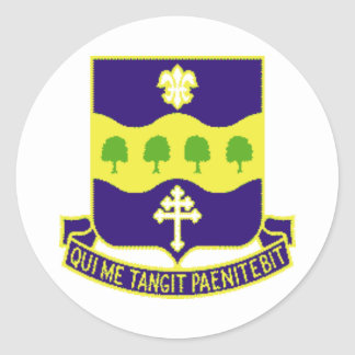 1/315th INFANTRY REGIMENT Classic Round Sticker