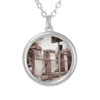 $1.33 For Gas Please Silver Plated Necklace