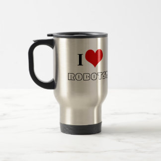 1 <3 ROBOTS Travel Mug