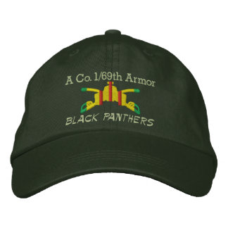 1 69th Armor VSM Armor Branch Embroidered Hat