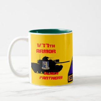 1/77th Armor Black Panthers Steel Tigers Mug