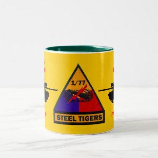 1/77th Armor Black Panthers Steel Tigers Mug