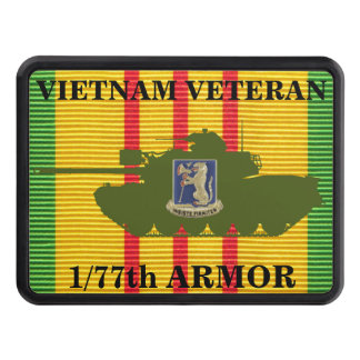 1/77th Armor M48A3 VSM Ribbon Hitch Cover