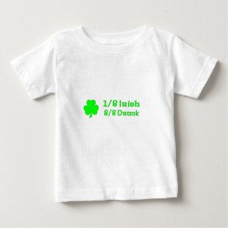 1/8 irish 8/8 Drunk T Shirts