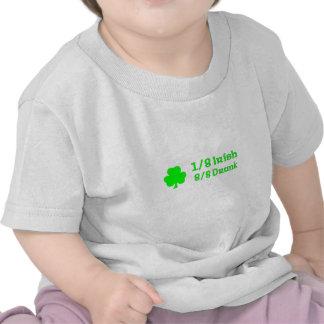 1/8 irish 8/8 Drunk Tshirt