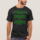 1 - A robot may not injure a human being or, th... T-Shirt