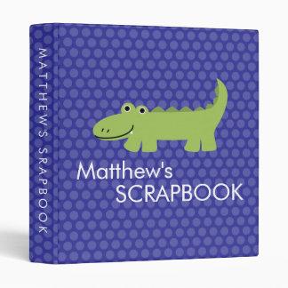 "1"" Alligator Scrapbook Vinyl Binder"