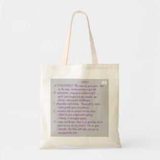 1-ARIES Mar 21- Apr 19 poem tote bag