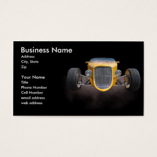 1 Bad Roadster Business Card