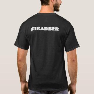 #1 Barber's Tools Men's Black T-Shirt