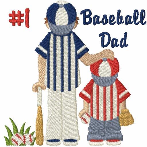 #1 Baseball Dad and Child