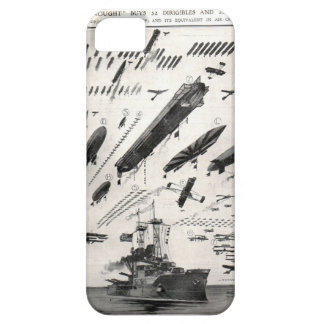 1 Battleship as compared to Aircraft iPhone 5 Case