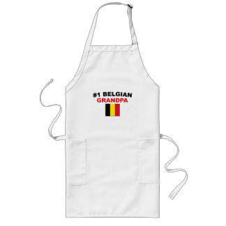 #1 Belgian Grandpa Long Apron