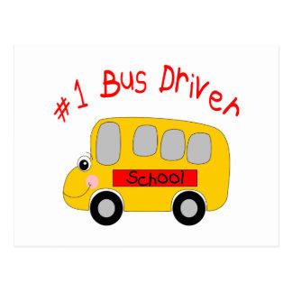 #1 Bus Driver Postcard