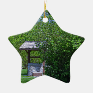 1 By the Wishing Well-horizontal.JPG Ceramic Star Ornament