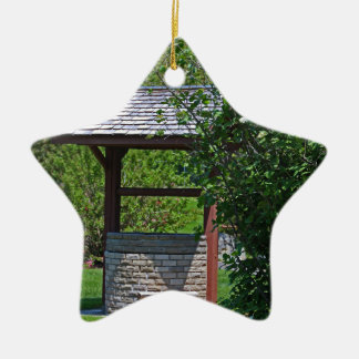 1 By the Wishing Well-vertical.JPG Ceramic Star Ornament