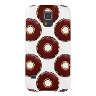 1 Cartoon Chocolate Donut Design Galaxy S5 Case