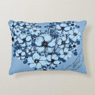 1 Corinthians 13:13b Accent Pillow