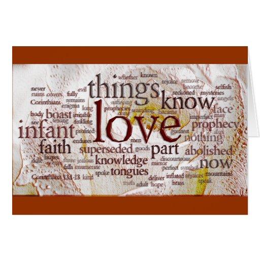 1 Corinthians 13 Rose (v1) Cards