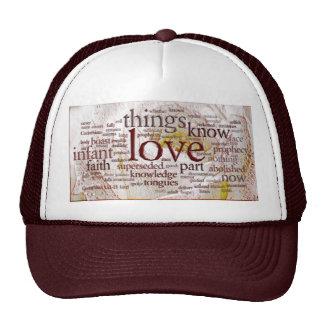 1 Corinthians 13 Rose v1 Mesh Hats