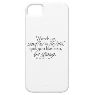 1 Corinthians 16:13 iPhone 5 Covers