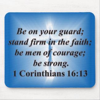 1 Corinthians 16:13 Mouse Pad