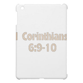 1 Corinthians 6:9-10 iPad Mini Covers