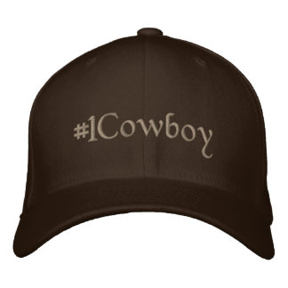 #1 Cowboy Embroidered Hat