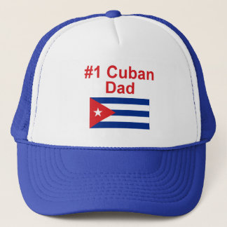#1 Cuban Dad Trucker Hat