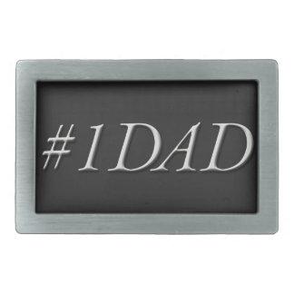 """#1 DAD"" Belt Buckle"