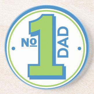 #1 Dad Beverage Coasters