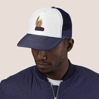 #1 Dad Ebony Teak Trucker Hat